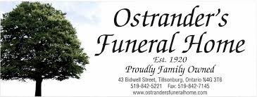 Ostrander's Funeral Home Ltd